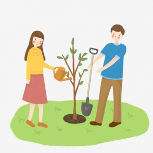 pngtree-arbor-day-children-planting-trees-together-image_1319244